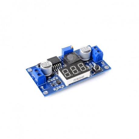 LM2596 Step-Down Step Down Adjustable Power Supply with LED Voltmeter
