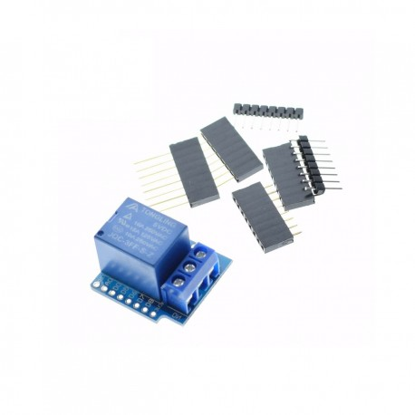 1 Channel Relay Module Shield Module for WeMos D1 mini