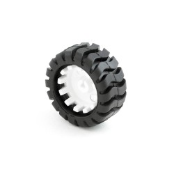 Small Rubber Tire Wheel 42mm for N20