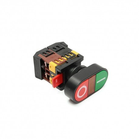 Panel Mount ON OFF Switch with Light Indicator AC 22MM
