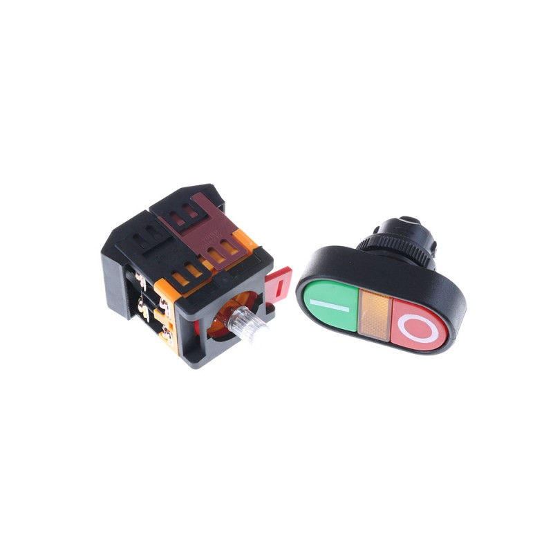 Panel Mount ON OFF Switch with Light Indicator AC 22MM - ZENIX Store