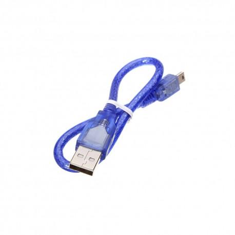 Mini USB Cable (for Arduino Nano) Blue