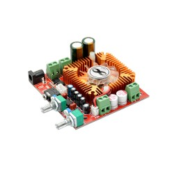 2.1 Channel TDA7379 Audio Subwoofer Amplifier Board with Fan (13W x 2) + (38W Bass) 12 - 22VDC