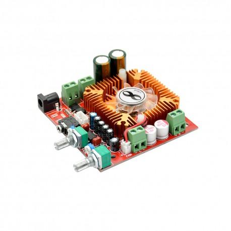 2.1 Channel TDA7379 Audio Subwoofer Amplifier Board with Fan (13W x 2)+(38W Bass) 12 - 22VDC