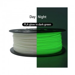 CCTREE Glow in Dark Super Tough PLA ST-PLA 3D Printer Filament 1.75mm 1Kg