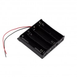 18650 (3.7V x 4 Series) Battery Holder Box Case