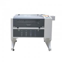6040 Grey & White RUIDA CNC CO2 Laser Engraving Machine 50W 60W 80W 100W