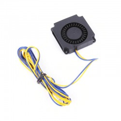 Creality 4010 Blower Cooler Fan 40x40x10MM 24V for Ender-3 Pro (Yellow-Blue long wire)