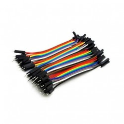 Male - Female Dupont Wire Jumper cable (40pcs 10cm)