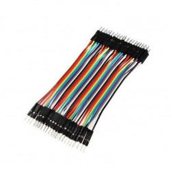 Male - Male Dupont Wire Jumper cable (40pcs 10cm)