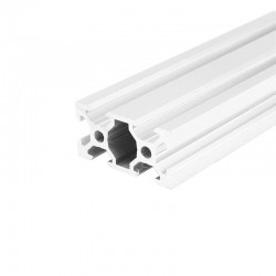 2040 V Slot Aluminium Extrusion Profile Silver 1m 2m