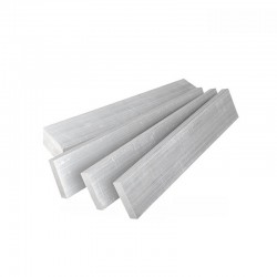 Square Flat Solid Aluminium Bar Block 1kg