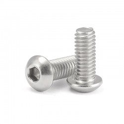 Button Head Socket Cap Screw Bolt M5 16mm