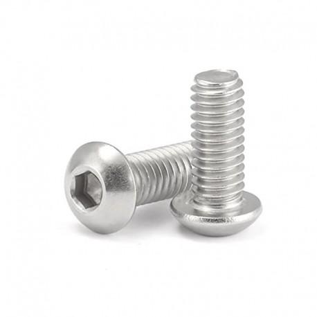 Button Head Socket Cap Screw Bolt M5 16mm