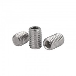 M5 6mm Grub Screw Threaded Insert for 20 Aluminium Extrusion