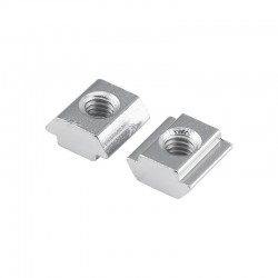 Slide in T Nut for 20 Aluminium Extrusion