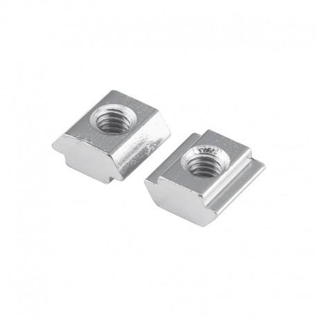 Slide in T Nut for 20 Aluminium Extrusion