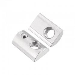 M5 Half Round T Slot Nut for 20 Aluminium Extrusion