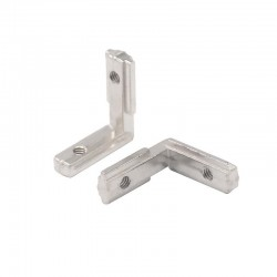 M5 Interior Angle Bracket for 20 Aluminium Extrusion