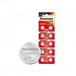 Panasonic LR44 Coin Cell Battery