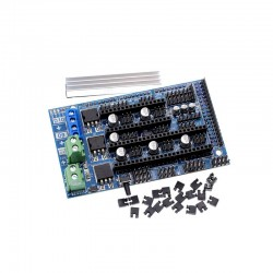 Reprap Ramps 1.6 Expansion Control Board 3D Printer Motherboard with Heatsink