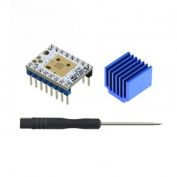 TMC2208 V1.3 Silent Stepper Driver Module (White Blue) for RepRap RAMPS