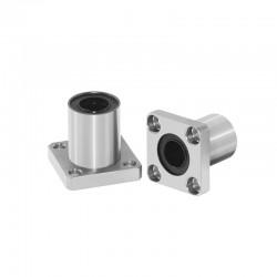 8mm Short Square Flange Linear Bearing - LMK8UU