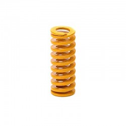 3D Printer Bed Die Mold Spring 10x25mm Yellow