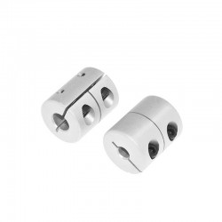 D20L25 Rigid Shaft Coupling Clamp 5x8mm for T8 Lead Screw
