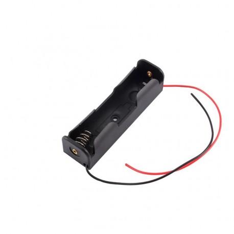 18650 (3.7V x 1) Battery Holder / Box / Case
