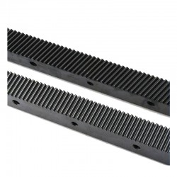 Helical Rack 1.25mm 671mm Black High Grade 25x22mm