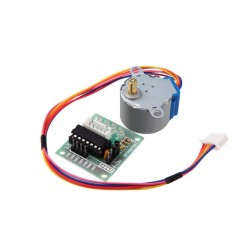 Gear Stepper Motor DC 5V 4 Phase [28BYJ-48] + ULN2003 Driver Module