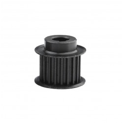 Black 18T 18 Teeth Timing Pulley for HTD5M 15mm (Bore: 14mm Key)