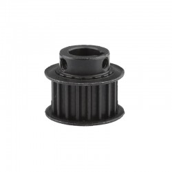 Black 20T 20 Teeth Timing Pulley for HTD5M 15mm (Bore: 14mm Key)