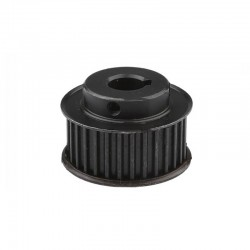 Black 30T 30 Teeth Timing Pulley for HTD5M 15mm (Bore: 14mm Key)