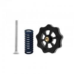4pcs Medium Hand Twist Bed Leveling Nut Spring Screw Kit