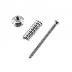 5pcs M3 Small Full Metal Hand Twist Bed Leveling Nut Spring Screw Kit