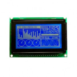 Graphic LCD GLCD (128x64 Blue Screen)