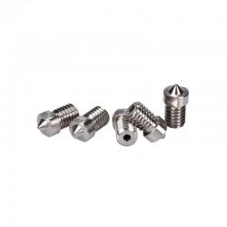 V6 TC4 Titanium Alloy Nozzle 1.75mm 0.4mm