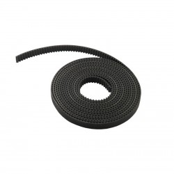 GT2 (Rubber with Fiberglass) 6mm Open Timing Belt 1m