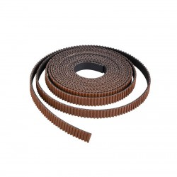 GT2 (Anti-Slip Toothed Cloth, Rubber with Fiberglass) 6mm Open Timing Belt 1m