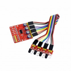 4 Channel 4CH IR Infrared Tracking Line Following Module