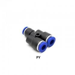 Pneumatic PY Y Connector