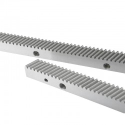 Helical Rack (Silver) 1.25mm 671mm 25x22mm High Quality