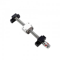 SFU2005 500mm Ball Screw Kit (Ball + Nut + Support + Coupling + BKBF)