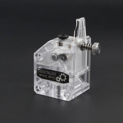 TWO TREES Transparent Dual Drive BMG Extruder Btech Cloned (Right)