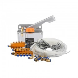 Manual 0.6L Oil Pump Lubrication System Kit for CNC