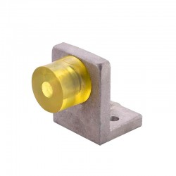 Hard Limit Collision Block for CNC Router (Yellow Rubber Big)