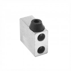 Hard Limit Collision Block for CNC Router (Black Rubber Small)