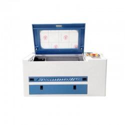 4030 Blue & White RUIDA CNC CO2 Laser Engraving Machine 50W